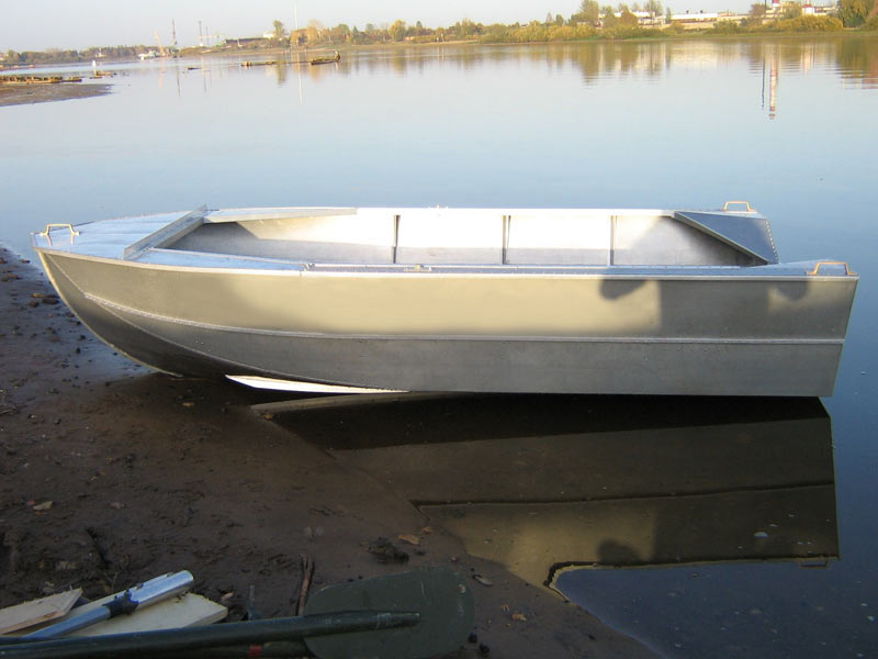 Сделать лодку из алюминия своими руками