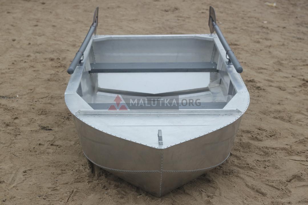 рыбалка на лодке без дна