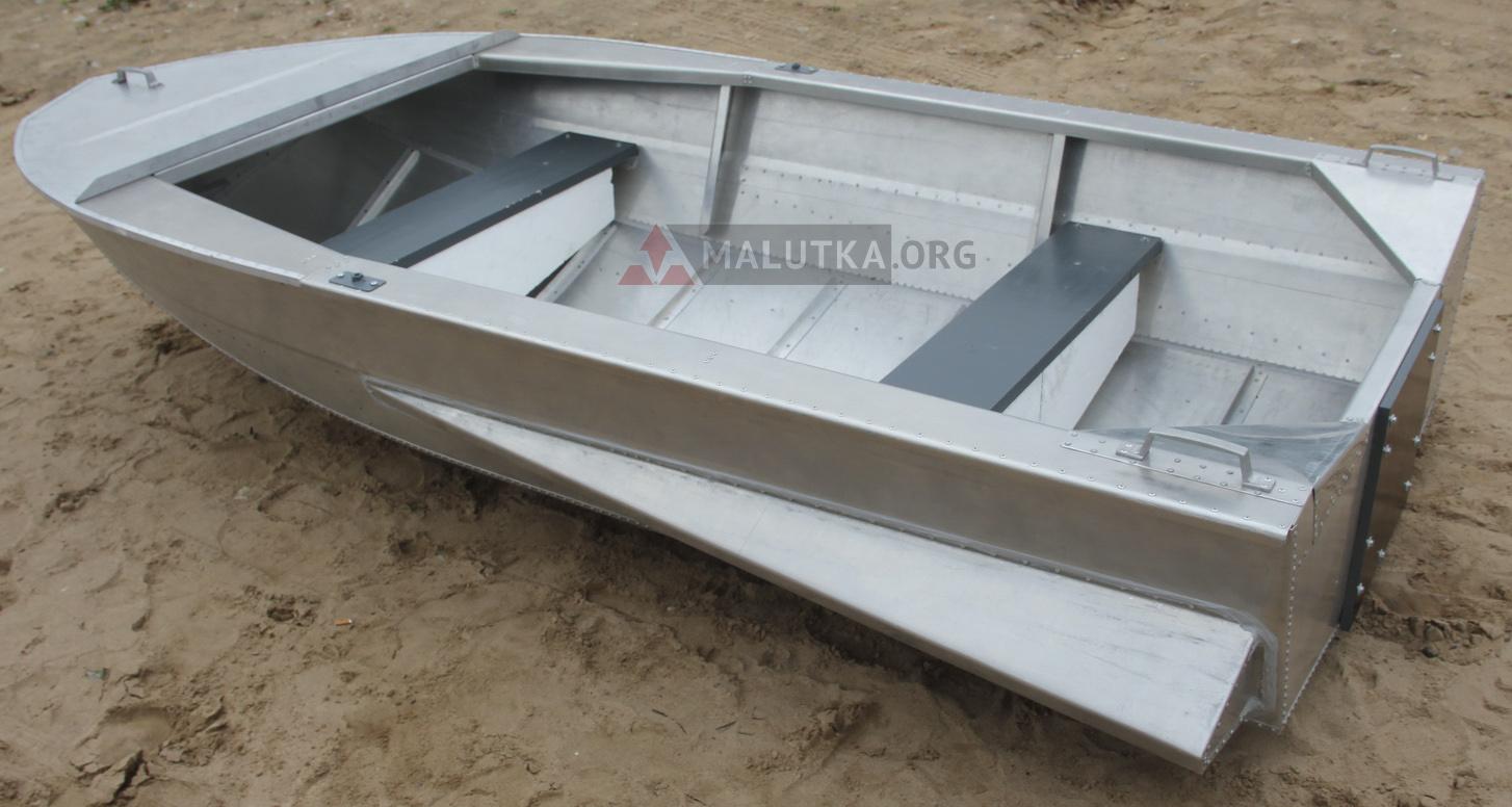 алюминиевая лодка окисляется