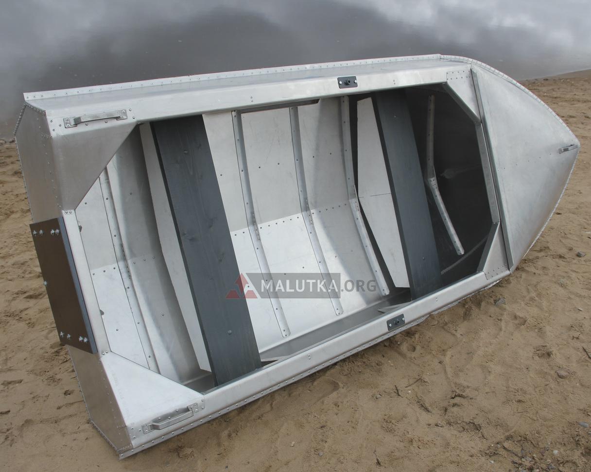 Гребные алюминиевые лодки романтика